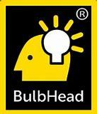 BulbHead home for bright ideas