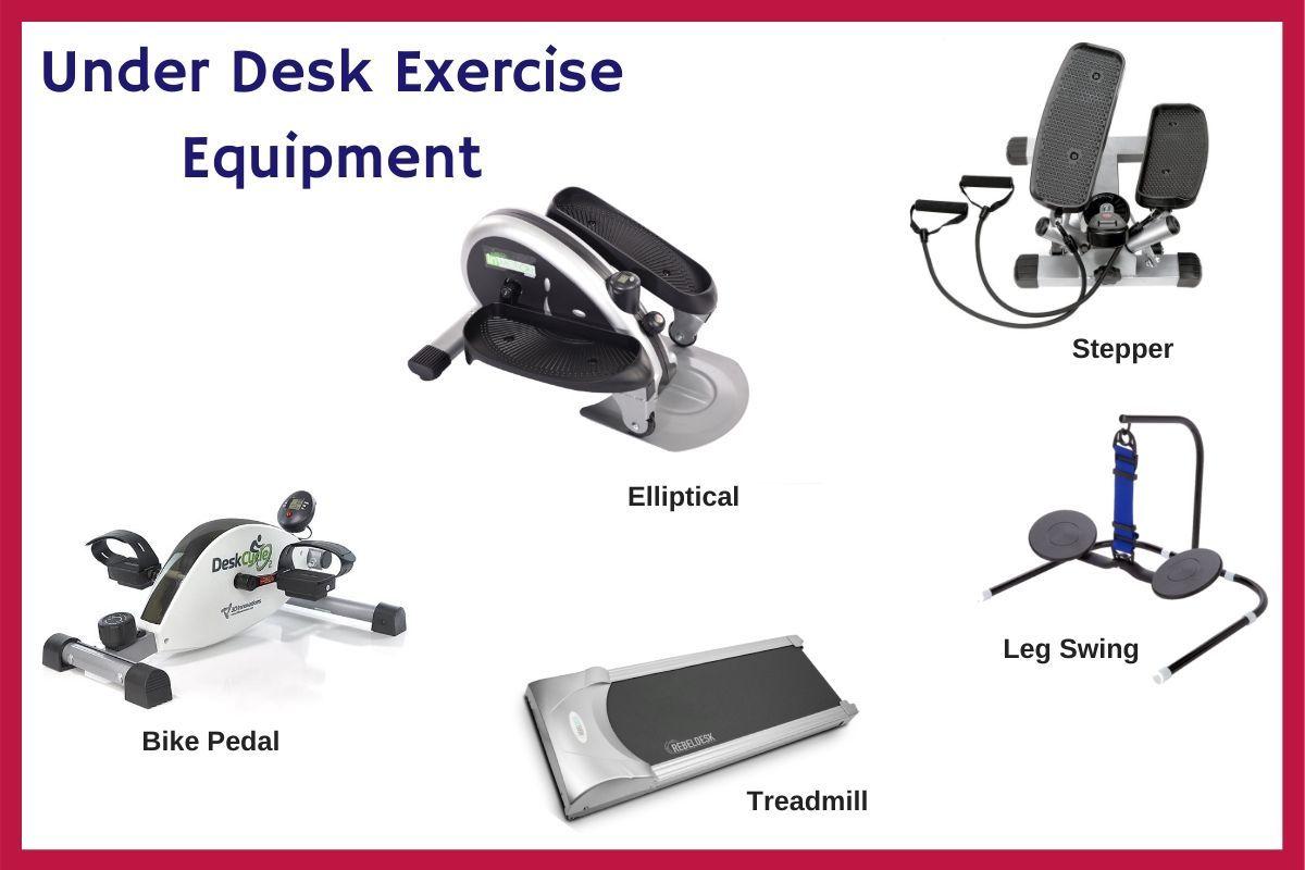 under desk workout equipment