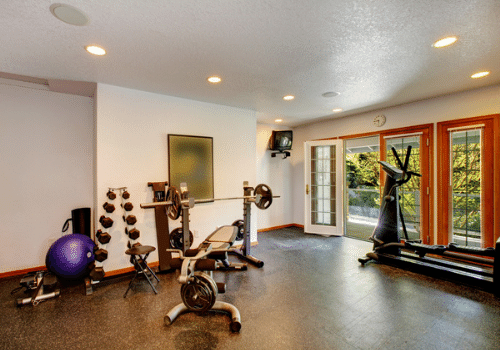celebrity home gyms