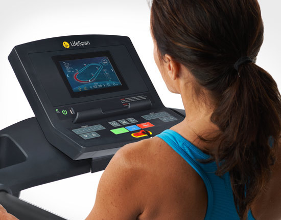 tr1200i color folding treadmill