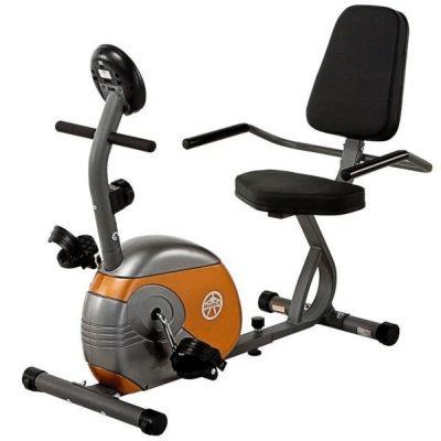 marcy recumbent exercise bike me 709