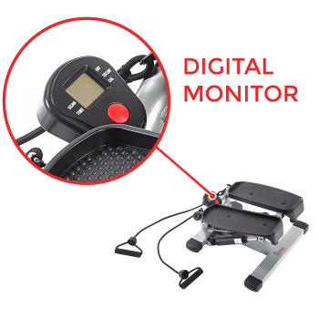 twist stepper digital monitor