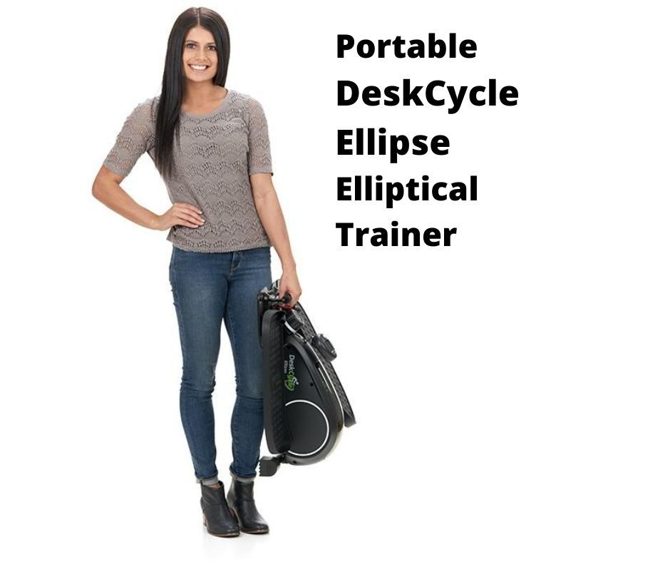 portable deskcycle ellipse elliptical trainer