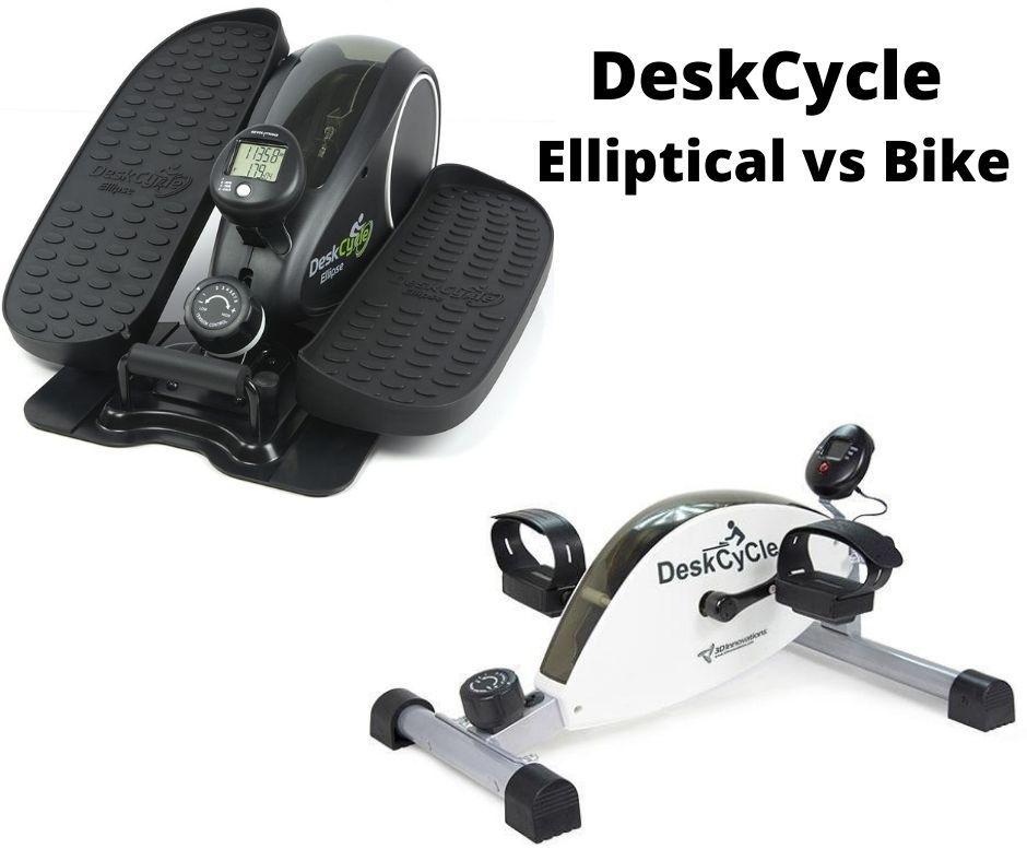 deskcycle elliptical trainer vs bike pedal